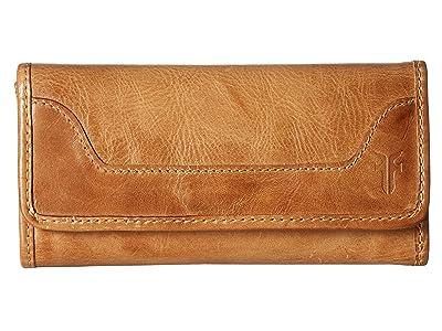 Frye Melissa Wallet (Beige Antique Pull Up) Wallet Handbags