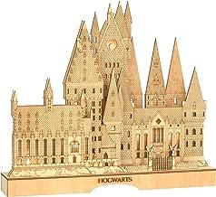 Department 56 Flourish Harry Potter Hogwart's Castle Lit Centerpiece Figurine, 12.6 Inch, Brown