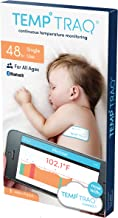 TempTraq 48-Hour Intelligent Baby Fever Monitor with Wireless Alerts (iOS & Android) - FDA-Cleared Wearable Smart Thermometer Patch - Alerts Immediately When Fevers Spike