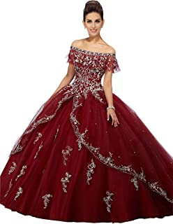 Boho Off Shoulder Quinceanera Dresses 2020 Lace Applique Beads Stones Layers Prom Dress 8th Grade