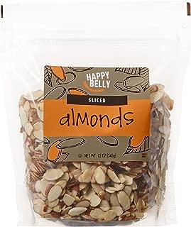 Amazon Brand - Happy Belly Amazon Brand Sliced Almonds, 12 ounce