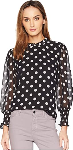 Long Sleeve Smock Cuff Spotlight Melody Blouse