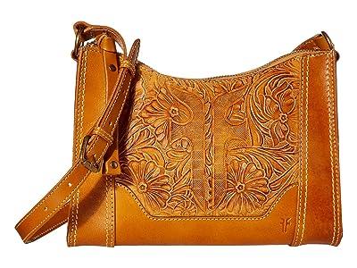Frye Melissa Artisan Zip Crossbody (Sunflower) Handbags