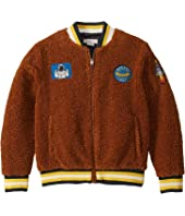Stella McCartney Kids - Teddy Bomber with Space Patches (Little Kids/Big Kids)