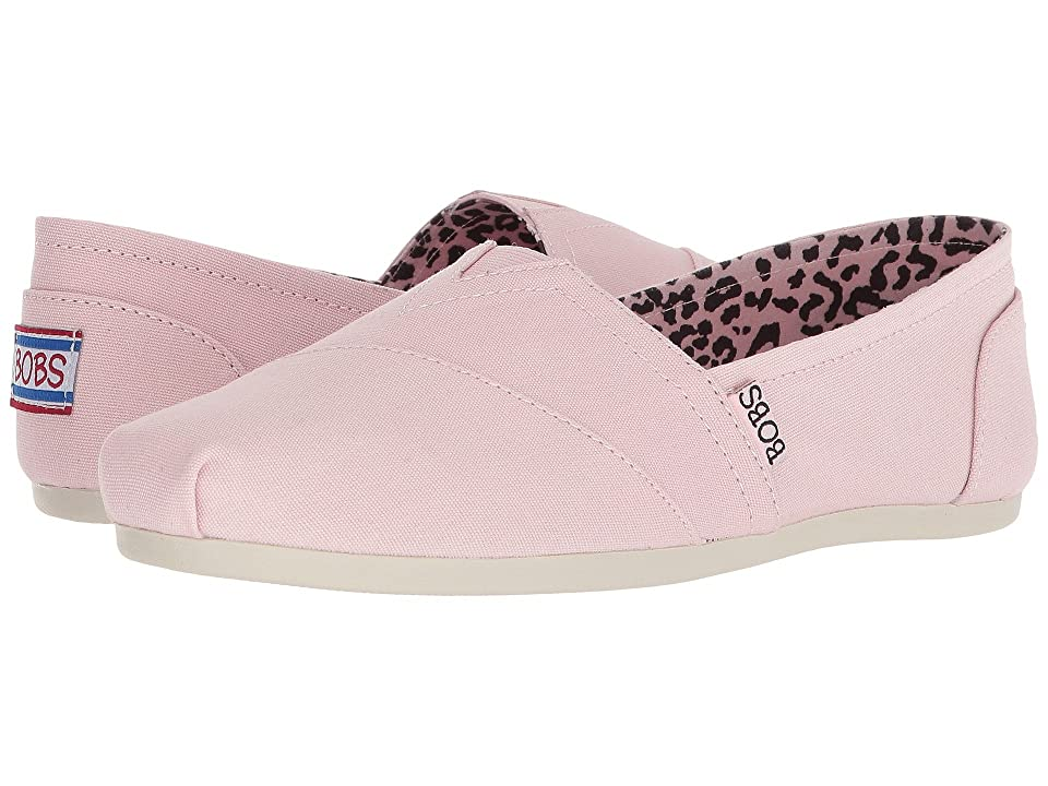 BOBS from SKECHERS Bobs Plush Peace and Love (Pink) Women