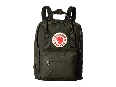Fjallraven Kanken Mini (Deep Forest) Backpack Bags