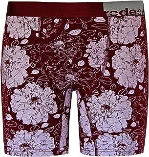 RodeoH Claret Floral Boxer Packing Underwear FTM Transgender