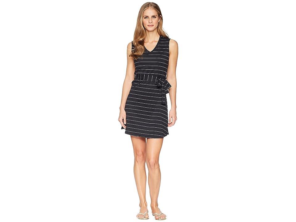 Mountain Khakis Cora Dress (Black Stripe) Women