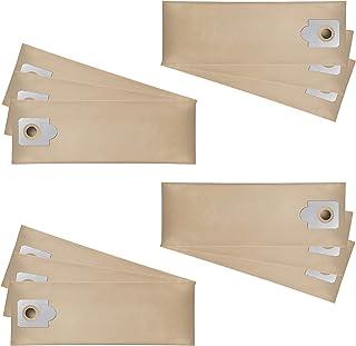 Wessper 12x Sacchetti per aspirapolvere per Kärcher NT 48/1 (Carta)