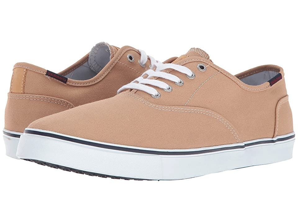Sebago Nolan Lace-Up (Tan Canvas) Men