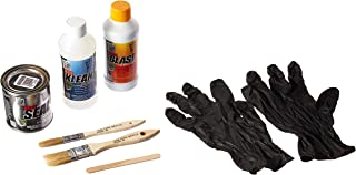 KBS Coatings 50008 Off-White 1 Fluid Ounce Preps and Coats 12.5 sq. ft. System Sampler-Rust Prevention Kit