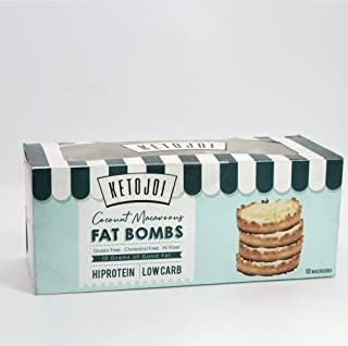Keto Low Carb Coconut Macaroon Fat Bombs