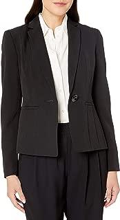 Kasper Women's Petite Size Stretch Crepe One Button Jacket