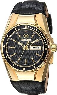 [テクノマリーン]TechnoMarine 腕時計 'Cruise' Quartz GoldTone and Silicone Casual Watch, TM-115388 レディース [並行輸入品]
