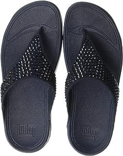 FitFlop Womens L99 Glitzie Toe-Thong Sandals