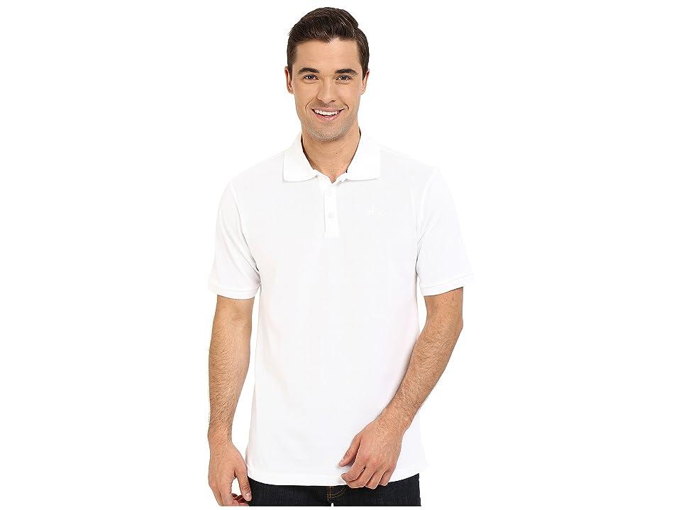 Nike SB SB Dri-FITtm Pique Polo (White/White) Men