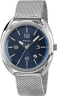 Orologio BREIL uomo BEAUBOURG quadrante blu e bracciale in acciaio, movimento SOLO TEMPO - 3H QUARZO