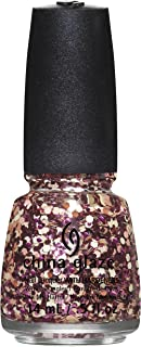 China Glaze Nail Lacquer With Hardeners - 14 Ml, Glimmer More - Multi Color