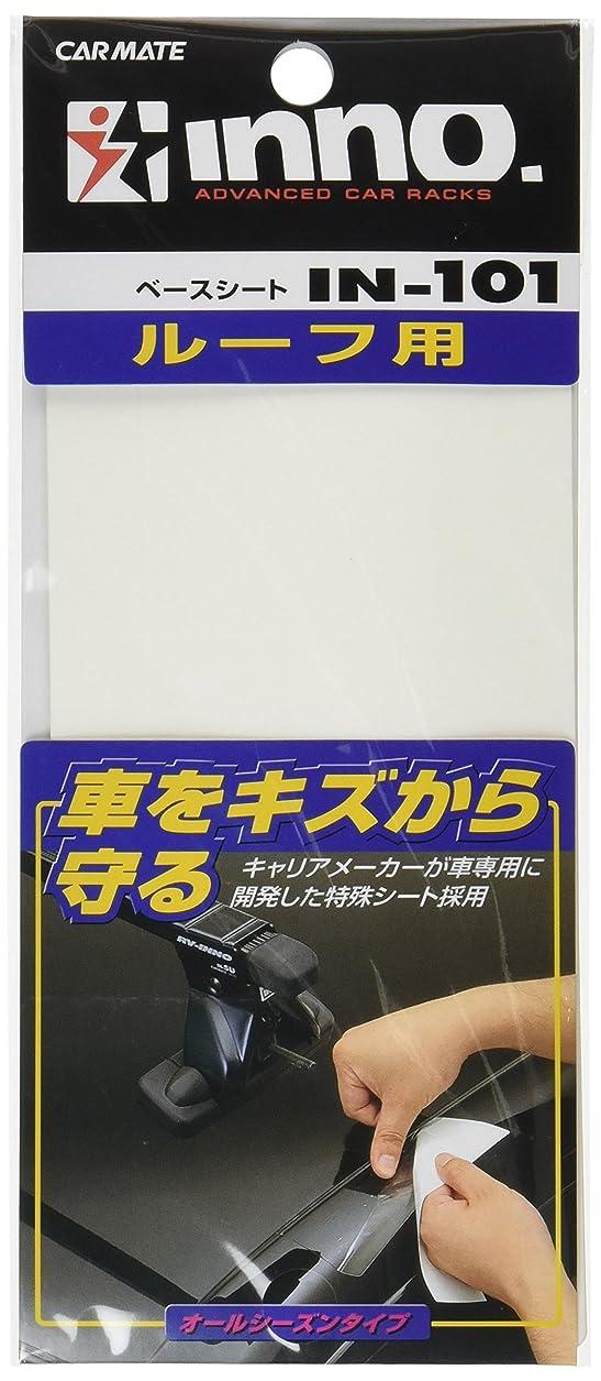 幻滅抗議ノートカーメイト ルーフキャリア inno ベースシート SU用 IN101