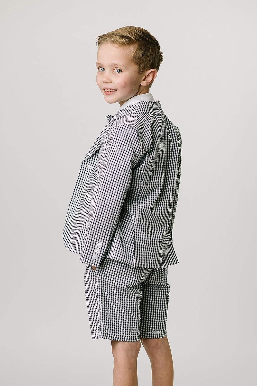 Hope /& Henry Boys Classic Seersucker Suit Jacket