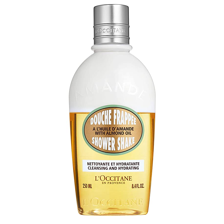 振り返る値するポルティコロクシタン(L'OCCITANE) アーモンド ミルクシャワーシェイク 250ml(ボディ用洗浄料)