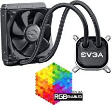 EVGA CLC 120 Liquid/Water CPU Cooler, RGB LED Cooling 400-HY-CL12-V1
