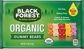 Black Forest Organic Gummy Bears, 11 Ounce bag