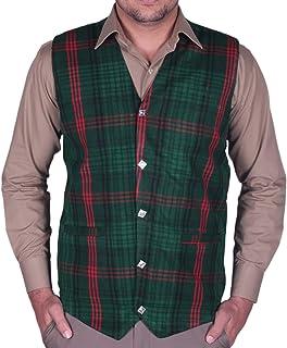 All Kilts Sports Gent's New Scottish Acrylic Wool Tartan Waistcoats - Men's Vests