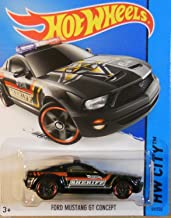 Hot Wheels, 2015 HW City, Ford Mustang GT Concept Police Car [Black] 49/250