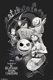 Trends International Disney Tim Burton's The Nightmare Before Christmas - Rip Wall Poster, 22.375