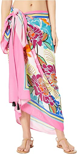 Radiant Blooms Pareo Cover-Up