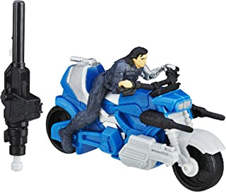 Marvel Captain America Civil War Winter Soldier with Blast-Action Cycle
