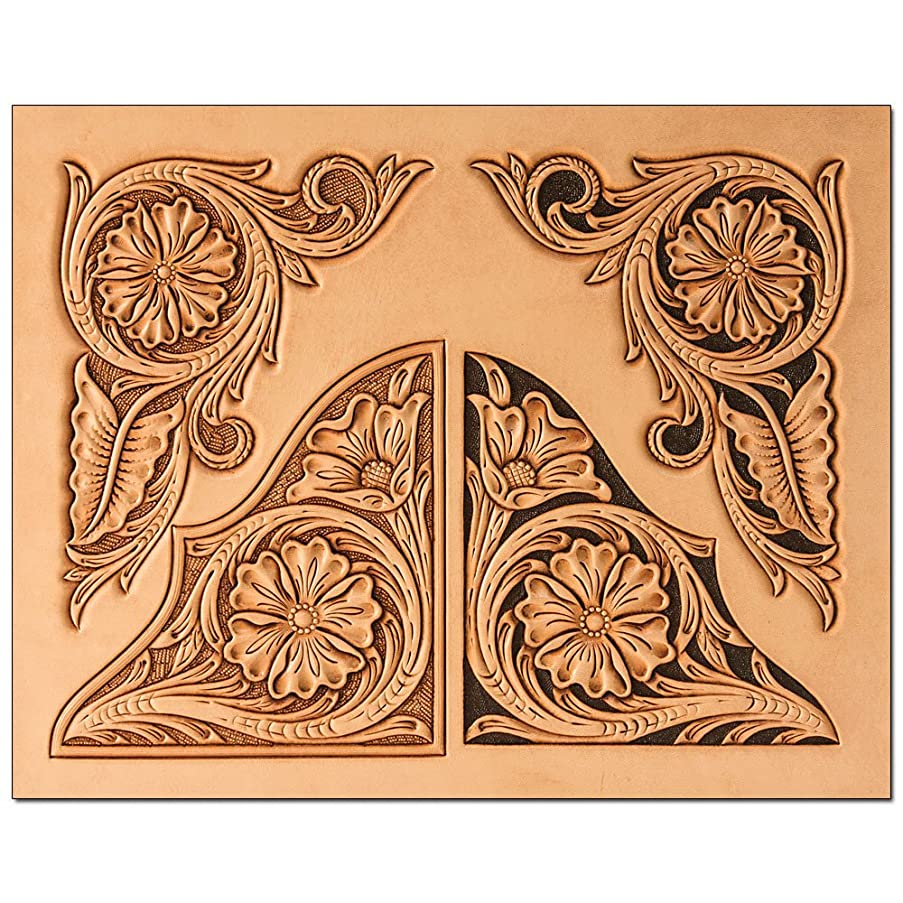 Tandy Leather Floral Corners Craftaid? 76617-00