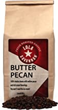 Lola Savannah Butter Pecan Whole Bean Coffee - Arabica Beans Flavored with Butter and Pecans | Caffeinated | 2lb Bag