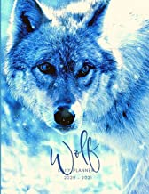 2020 2021 15 Months White Wolf Daily Planner: Academic Hourly Organizer In 15 Minute Interval; Appointment Calendar With Address Book, Password Log & ... Jan 2020 To Mar 2021 With Julian Dates