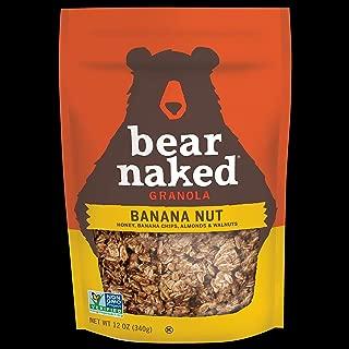Bear Naked Banana Nut Granola - Non-GMO, Kosher, Vegetarian Friendly - 12 Oz (Pack of 6)
