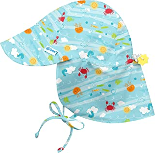 i play. Flap Sun Protection Hat | All-Day Sun Protection for Head, Neck, Eyes | Adjustable Size, UPF 50+ Protection, Quick-Dry, Comfortable Wicking Liner