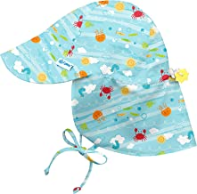 i play. by green sprouts Baby Boys' I Play. Flap Sun Protection Hat