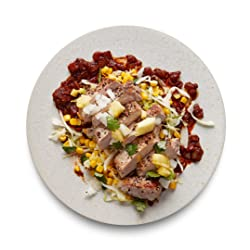 Amazon Meal Kits, Roasted Pork Loin with Ancho Chile & Pineapple Salsa, Serves 2