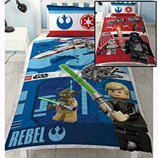 LEGO Star Wars Battle Single/US Twin Duvet Cover and Pillowcase Set