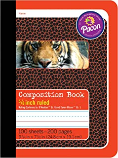 Pacon PAC2427BN Primary Composition Book, 5/8