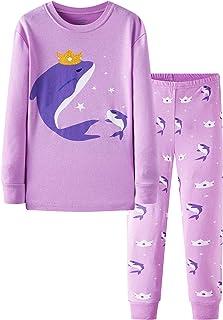 Nouveau Carter/'s Licorne Pyjama Filles Poly pyjama 5,10 14 Violet Bleu Marine