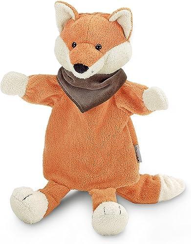 Sterntaler Marionette à main Renard, 38 x 24 x 10 cm, Orange