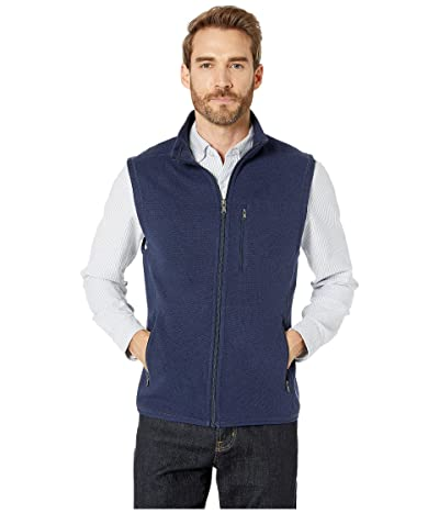 Southern Tide Samson Peak Sweater Fleece Vest (True Navy) Men