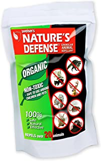 Bird-X Nature's Defense Organic All Animal and Pest Repellent, 22-Ounce, Covers 3,500 sq. ft.