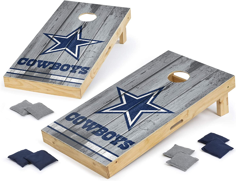 PROLINE NFL Dallas Cowboys 2'x4' Cornhole Board Set New Orleans Mall Vintage NEW before selling De -