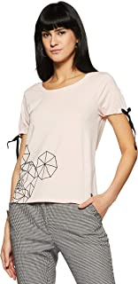 VERO MODA Women's Regular Fit Top (200784001_Lotus_S)