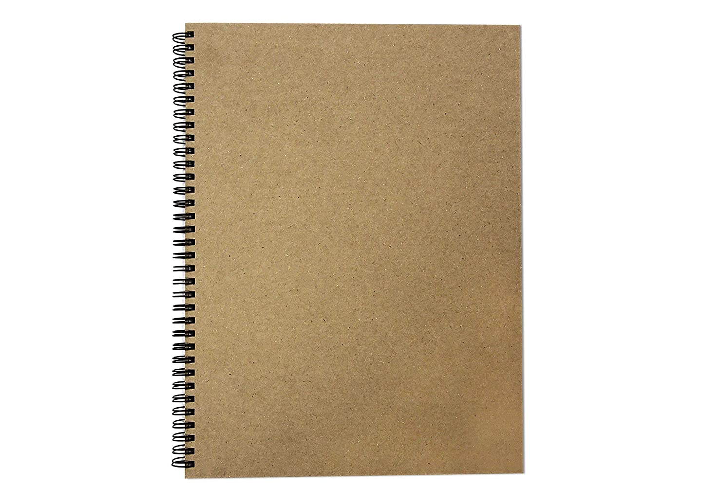 8.3 x 11.7 (A4) (Portrait) Recycled Sketch Book, 40 Sheets (80 Sides) of 170gsm Recycled Cartridge Paper, Recycled Hard Covers