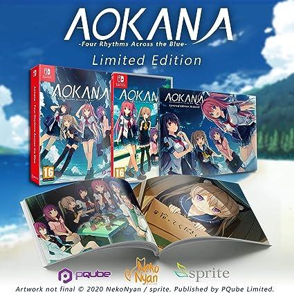 Aokana - Four Rhythms Across the blue - Limited Edition