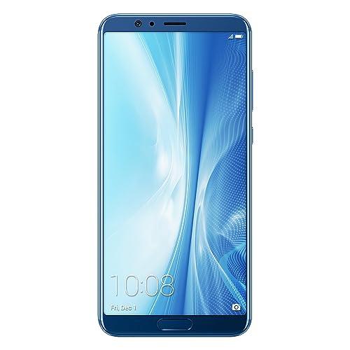 Honor View 10 Smartphone Portable Débloqué 4G (Ecran: 5,99 Pouces - 6 G0 de RAM, 128 Go de ROM - Double Nano-SIM - Android) Bleu